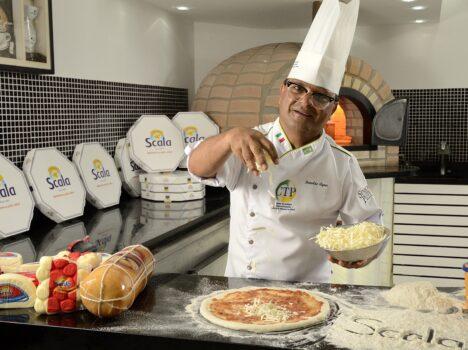 Pizza 4 Queijos Scala