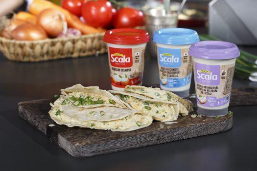 Tortilha de Frango com Requeijão Scala